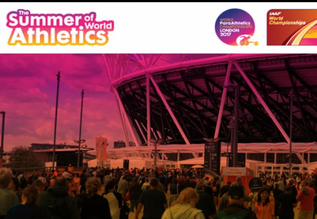 Atletičari u Londonu 2017!